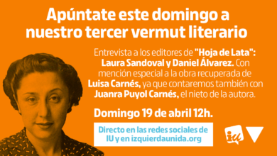 Photo of Tercer #VermutLiterarioIU, con Laura Sandoval, Daniel Álvarez, Juanra Puyol Carnés y Esther López Barceló