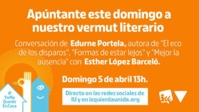 Photo of Primer #VermutLiterarioIU, con Edurne Portela y Esther López Barceló