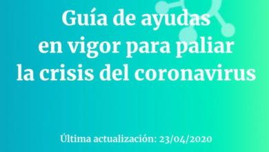 Photo of Guía de ayudas en vigor para paliar la crisis del coronavirus – Fundación Civio