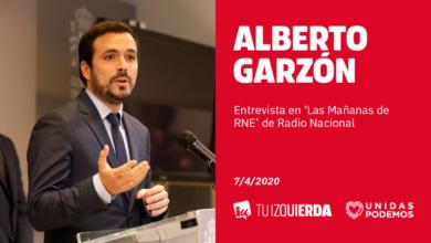 Photo of Alberto Garzón: «El Gobierno trabaja para aprobar pronto un ingreso mínimo vital. Proteger a la clase trabajadora no es sólo un deber ético, también es la única forma de recuperar la economía tras la pandemia»