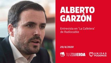 Photo of Alberto Garzón: «Había que regular el precio de mascarillas, geles y otros productos para frenar la especulación»