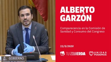 Photo of Alberto Garzón: «Hemos intervenido los precios de algunos servicios y productos porque algunos pretendían aprovechar la crisis sanitaria para enriquecerse»