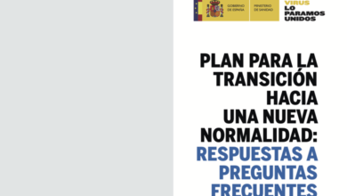Photo of Guía con respuestas a las preguntas más frecuentes relacionadas con la desescalada – Gobierno de España