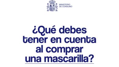 Photo of Guía para la compra de mascarillas en el periodo de desescalada – Ministerio de Consumo