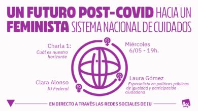 """Photo of Charla """"Cuál es nuestro horizonte"""" con Clara Alonso y Laura Gómez – Área de la Mujer de IU"""
