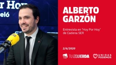 Photo of Alberto Garzón: «El escudo social del Gobierno está funcionando, ayudando tanto a que las familias no hayan dejado de tener ingresos como también haciendo que la recuperación económica sea lo más rápida posible»
