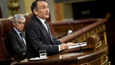 """Photo of Enrique Santiago dice a Vox que una """"fuerza patriótica"""" debe """"exigir menos explicaciones y apoyar más al Gobierno"""" en temas estratégicos como defender las aguas territoriales de Canarias"""