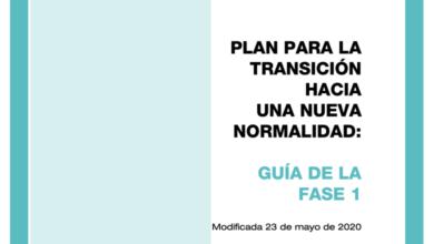 Photo of Guía para la Fase 1 de la desescalada – Ministerio de Sanidad