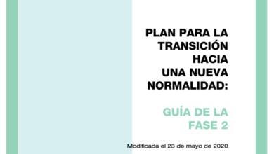 Photo of Guía para la Fase 2 de la desescalada – Ministerio de Sanidad