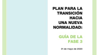 Photo of Guía para la Fase 3 de la desescalada – Ministerio de Sanidad
