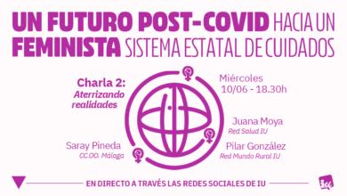 Photo of Acto «Aterrizando realidades» del ciclo «Hacia un sistema nacional de cuidados» – Área de la Mujer de IU