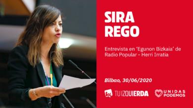 Photo of Sira Rego: «A nivel político, medioambiental e incluso humano, la gestión del vertedero de Zaldibar ha sido muy mala antes, durante y después del accidente»