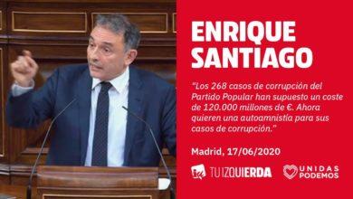"""Photo of Enrique Santiago reclama al PP que """"deje atrás la corrupción, enfrente su pasado y pida perdón"""", y que acabe con la """"auto amnistía"""" que busca perpetuar en la Ley de Enjuiciamiento Criminal"""