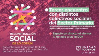Photo of Acto de la campaña 'Reconstrucción Social de lo Común' – Colectivos del Sector Primario