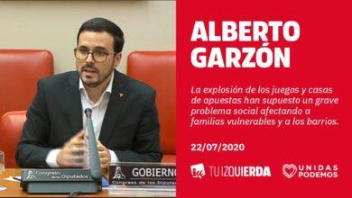Photo of Alberto Garzón anuncia la prohibición total de la publicidad de apuestas salvo en la franja de 01:00 a 05:00 de la madrugada