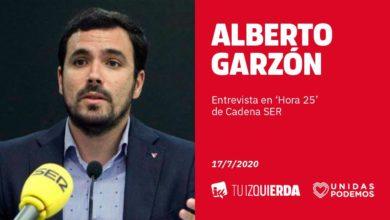 Photo of Alberto Garzón: «No está en nuestra hoja de ruta recortar las pensiones a cambio de fondos europeos»