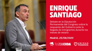 """Photo of Enrique Santiago denuncia que PP y Vox buscan """"crear una alarma social injustificada"""" por la llegada de trabajadores migrantes dentro de su """"política de odio para buscar confrontación entre españoles"""""""