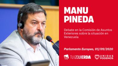 Photo of Manu Pineda: «La UE debe aceptar la invitación del Gobierno de Venezuela a enviar una misión oficial de observación electoral en diciembre»
