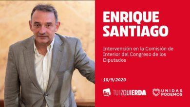Photo of Enrique Santiago saca adelante la iniciativa para mejorar la sanidad de internos y trabajadores de prisiones, y para acabar con 17 años de retraso en transferir los servicios a las comunidades