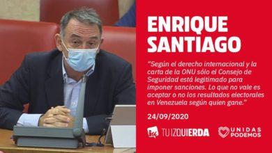 Photo of Enrique Santiago: «Como dice el propio Capriles, Guaidó sólo es presidente de Venezuela en internet»