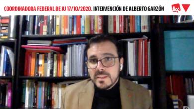 """Photo of Alberto Garzón reafirma la apuesta """"inquebrantable"""" de IU por """"mejorar la unidad política y por reforzarse"""" mucho más frente al """"asedio de la extrema derecha y de la derecha radicalizada"""""""