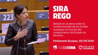 """Photo of Sira Rego: """"La UE debería preguntarse en qué momento aceptó ser rehén de dos Gobiernos de extrema derecha"""""""