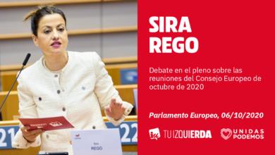 Photo of Sira Rego: «No tiene sentido que la UE promueva una Ley Climática si a la vez firma Tratados de Libre Comercio que provoca que comamos naranjas de Sudáfrica con más huella de carbono que toda la producción de València»