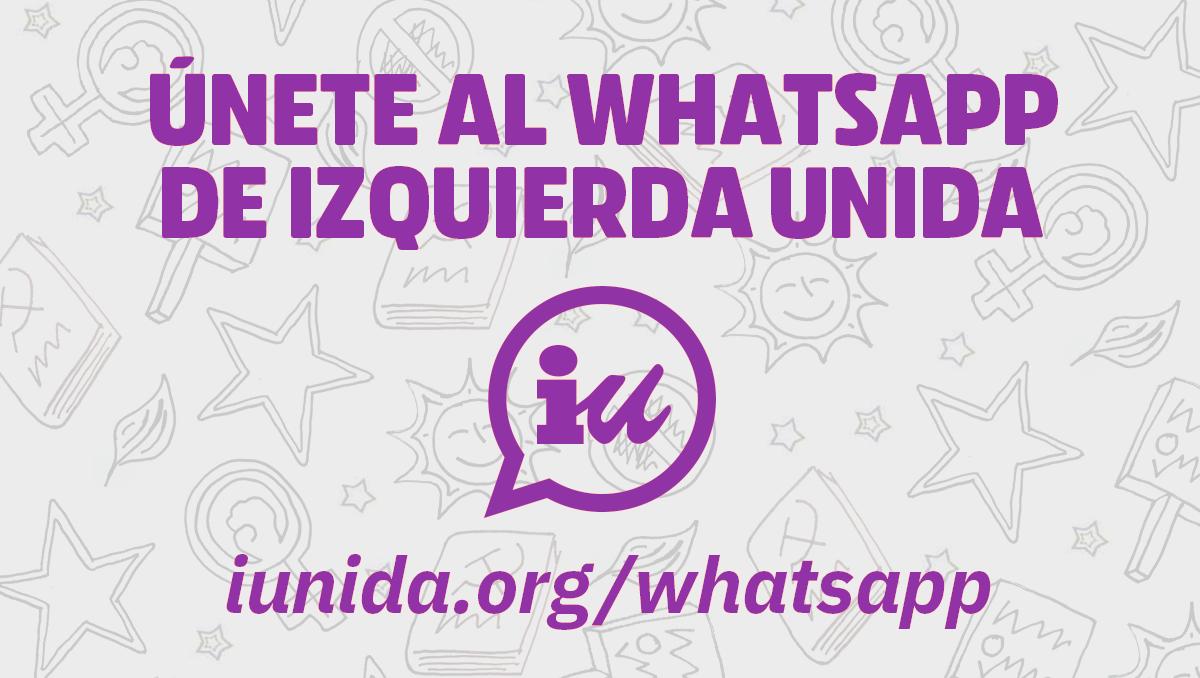 Únete al Whatsapp de IU